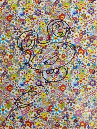 Lithograph Murakami - Drawing