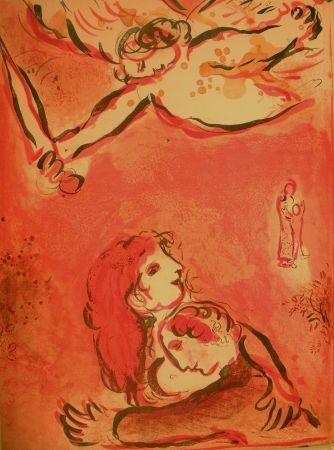 Illustrated Book Chagall - Drawings for the Bible