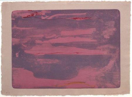 Lithograph Frankenthaler - Dream Walk