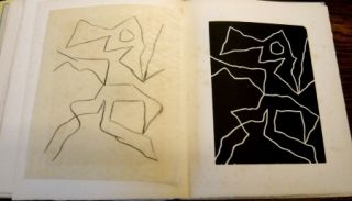 Woodcut Arp - Dreams and project