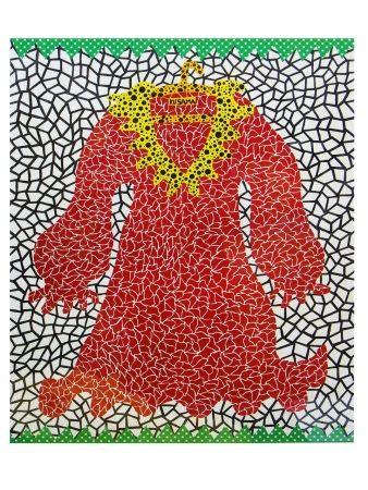 Lithograph Kusama - Dress