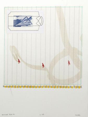 Lithograph Goldberg - Drifter Plus #1