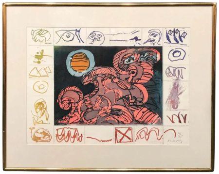 Engraving Alechinsky - Droit de regard
