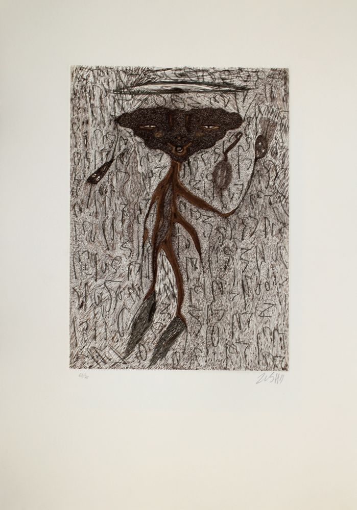 Etching And Aquatint Zush - Drosuno
