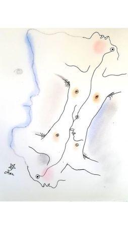 Lithograph Cocteau - Dual