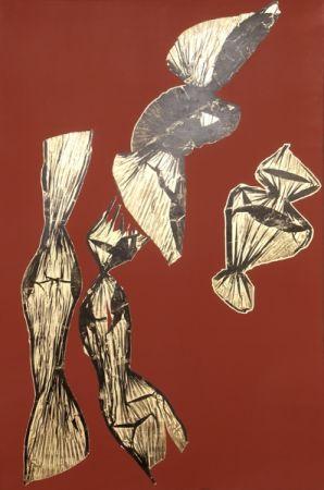 Lithograph Benglis - Dual Nature (Brown)