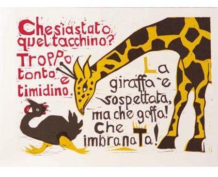 Illustrated Book Brancaforte - Duccio il pittore elettrodomestico