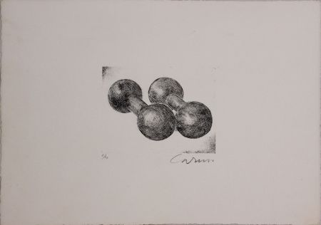Etching And Aquatint Caruso - Due pesi, due misure
