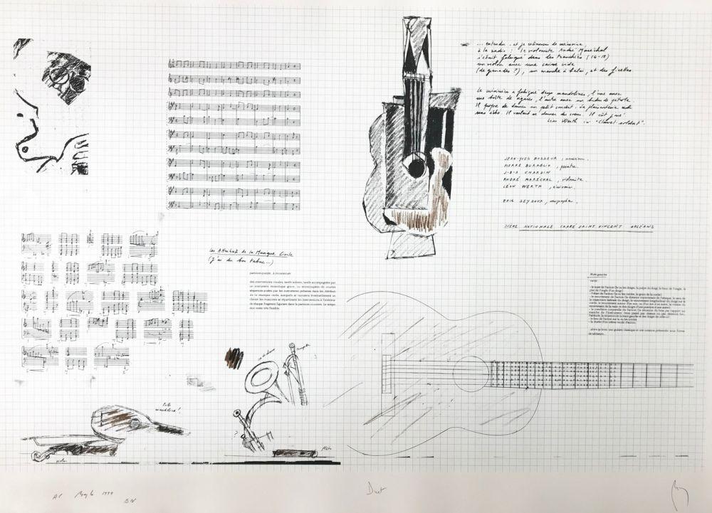 Screenprint Buraglio - Duet