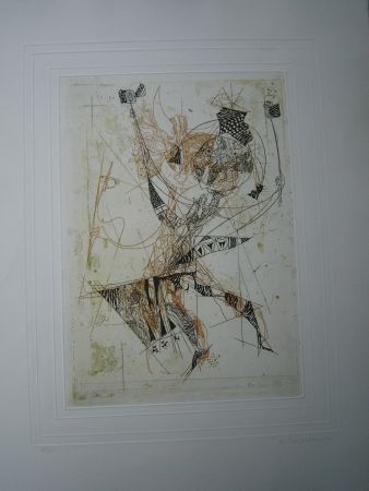 Etching And Aquatint Finsterer - Duo