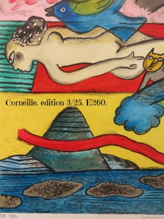 Lithograph Corneille - EA 3/25