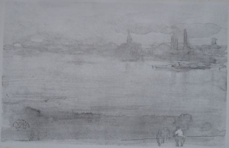 Lithograph Whistler - Early Morning