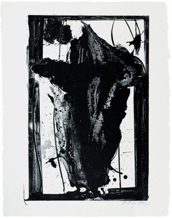 Lithograph Motherwell - Easter Egg