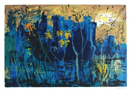 Screenprint Piper - Eastnor Castle