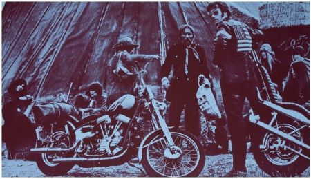Screenprint Young - Easy Rider