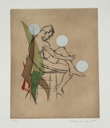 Etching And Aquatint Jean - Eaux-fortes