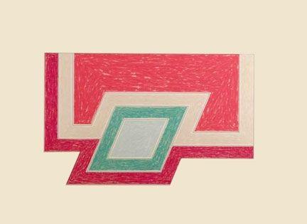 Lithograph Stella - Eccentric Polygons - Conway