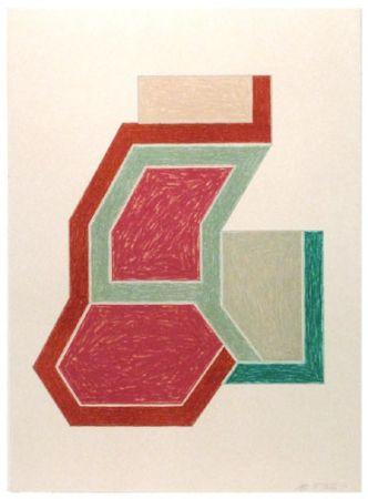Lithograph Stella -  Eccentric Polygons - Sunapee