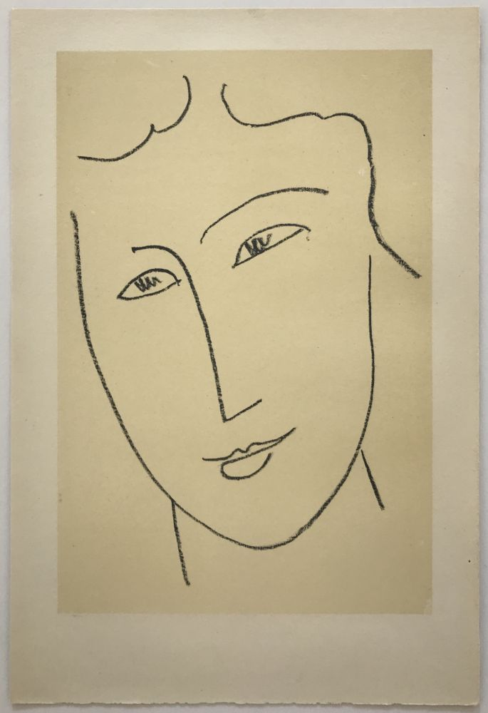 Lithograph Matisse - Echos I