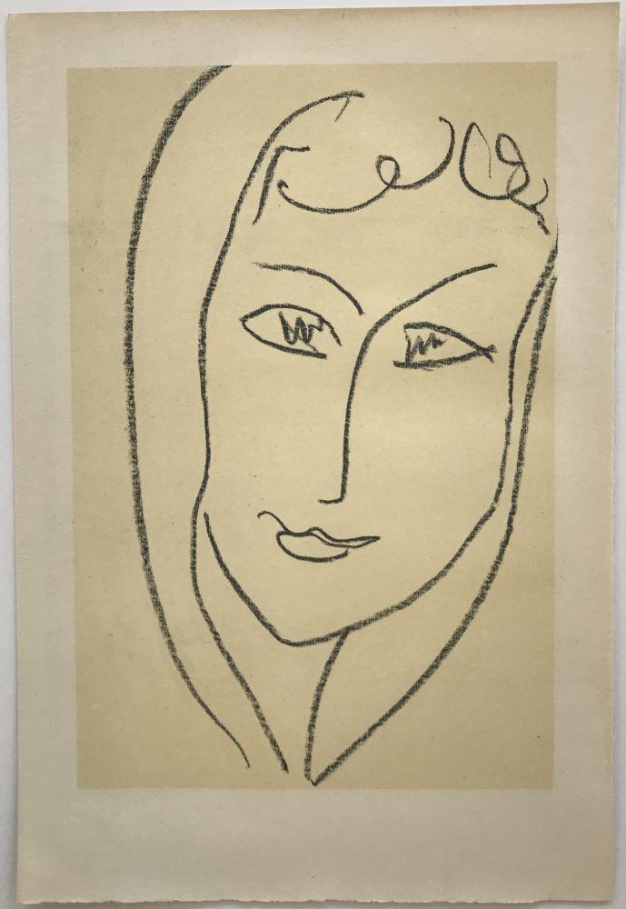 Lithograph Matisse - Echos II