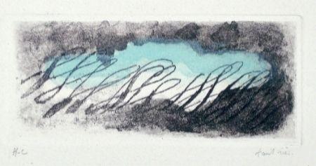 Etching And Aquatint Fautrier - Eclaircie verte