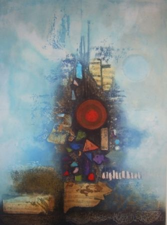 Etching And Aquatint Engel - Eclosion