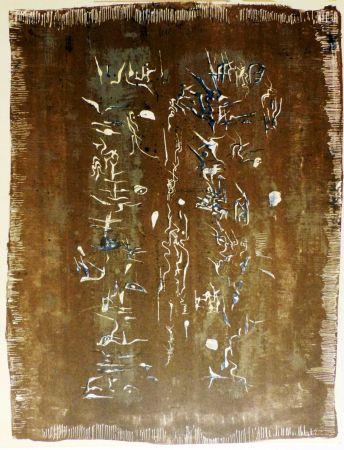 Lithograph Zao - ECRITURE PLASTIQUE