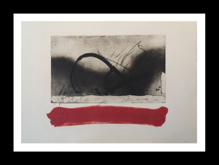 Etching And Aquatint Tàpies - Ecuacion