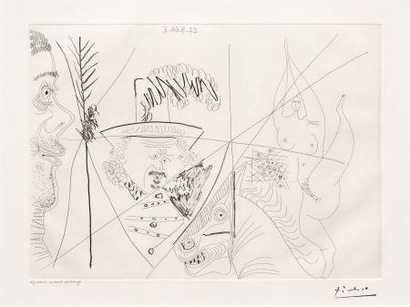 Etching Picasso - Ecuyere de Cirque