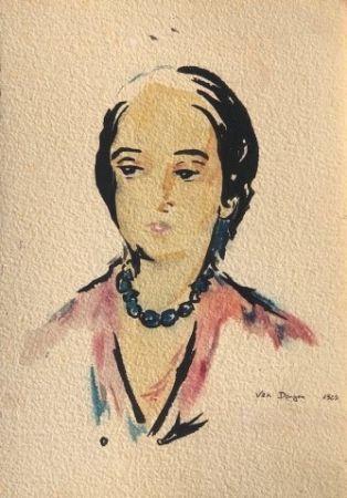 Lithograph Van Dongen - Ed. des Courières