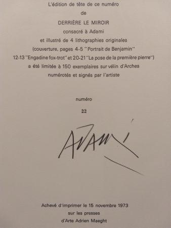 Illustrated Book Adami - Edition Tete DLM 206