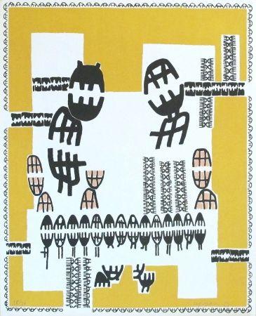 Lithograph Capogrossi - Edizioni del Cavallino Venezia