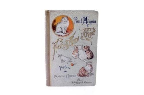 Illustrated Book Manet - Edouard Manet/ Paul Mégnin. Notre ami le chat. 1899.