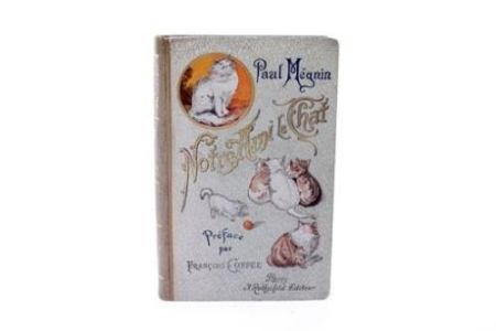 Illustrated Book Manet - Edouard Manet/ Paul Mégnin. Notre ami le chat. 1899.