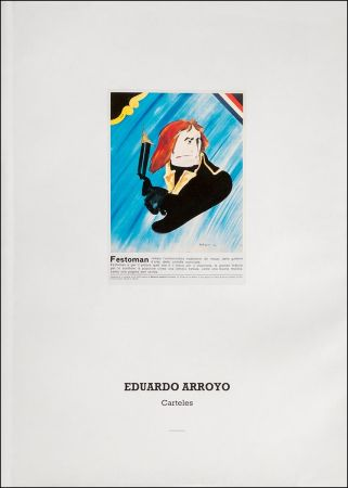 Illustrated Book Arroyo - Eduardo Arroyo: Carteles