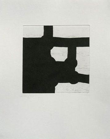 Etching And Aquatint Chillida - Eduardo Chillida