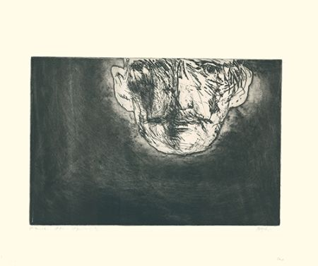 Etching And Aquatint Baskin - Edvard Munch