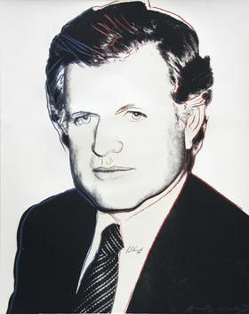 Screenprint Warhol - Edward Kennedy