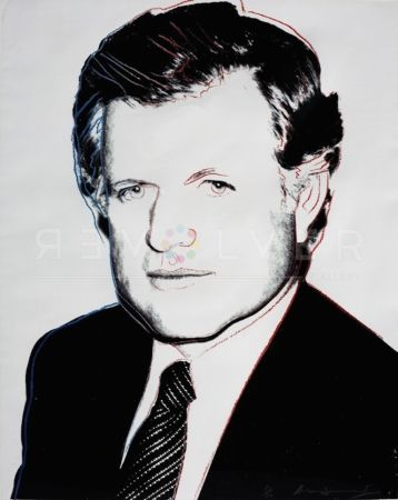 Screenprint Warhol - Edward Kennedy