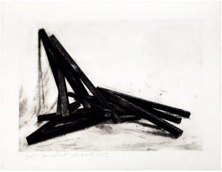 Engraving Venet - Effondrement: Angles