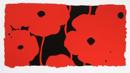 Screenprint Sultan - Eight Poppies