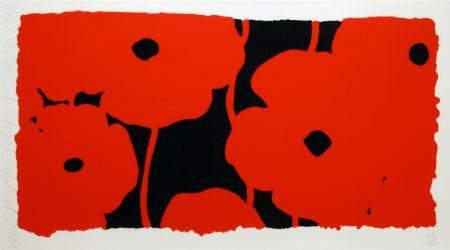 Screenprint Sultan - Eight Poppies