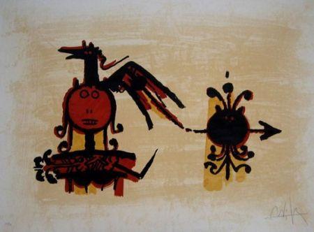 Lithograph Lam - EL ÚLTIMO VIAJE DEL BUQUE FANTASMA
