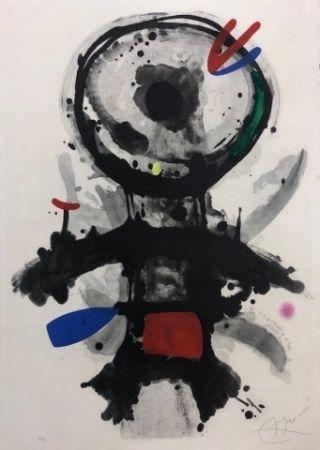 Engraving Miró - El angel acribillado