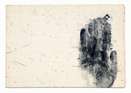 Lithograph Broglia - El Baquiano y los suyos