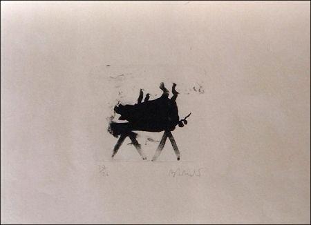 Lithograph Barcelo - El Cerdito