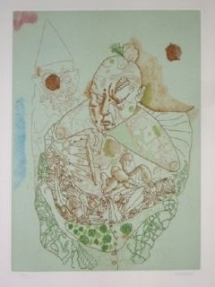 Etching And Aquatint Castillo - El Circo, Vol 2.1