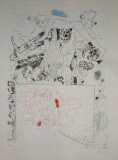 Etching And Aquatint Castillo - El Circo, Vol 2.4