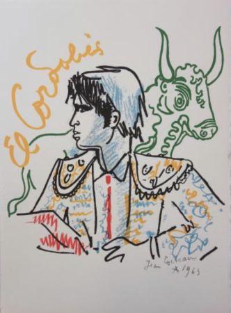 Lithograph Cocteau - El cordobes