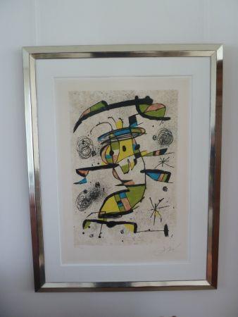 Lithograph Miró - El Dancaire